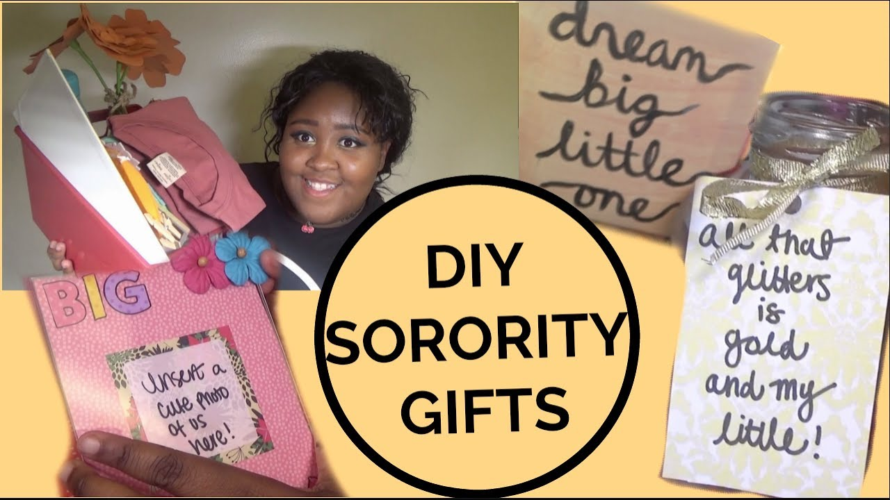 DIY Gifts for your Sorority Little
