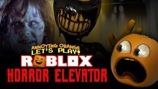 Roblox: SHOCKTOBER HORROR ELEVATOR! [Giochi arancioni fastidiosi]