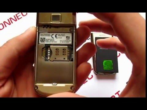Nokia 8800 Art замена шлейфа - YouTube