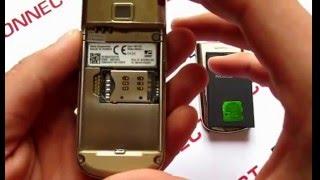 видео обзор оригинального телефона Nokia 8800 Gold Arte