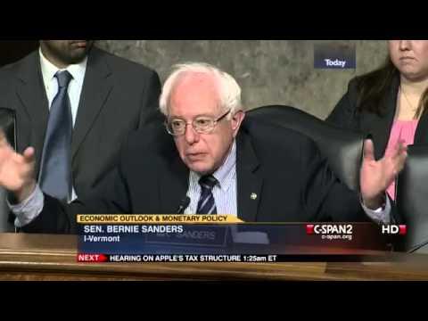 Bernie Sanders Grills Ben Bernanke (5) [5/22/2013]