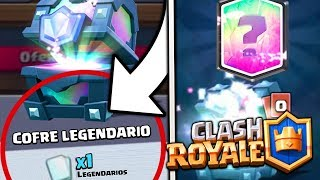 😵ABRO MY FIRST LEGENDARY CHEST! 😎 | Clash Royale | iMrLeo_YT