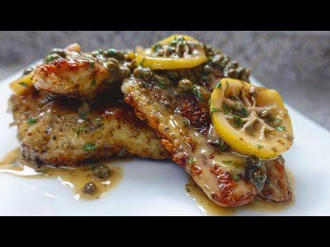 Catfish Piccata | Lemon Butter Fish | Fish In Butter Sauce