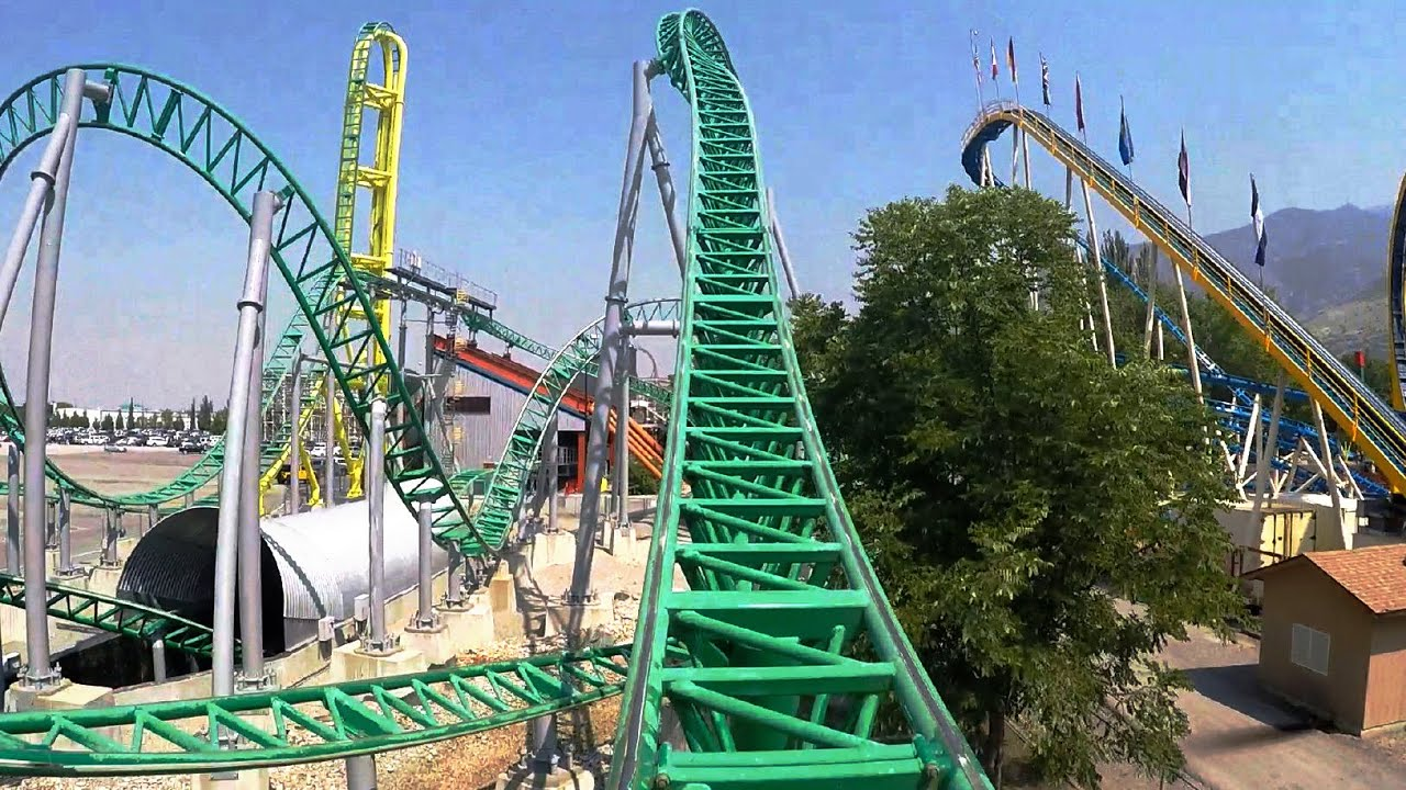 Download Wicked front seat on-ride HD POV @60fps Lagoon