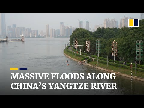 Massive floods hit communities along China's Yangtze River, where more rain is in the forecast