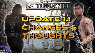 UPDATE 1.1 New Game Additions and Balance Changes!  - Star Wars Battlefront 2