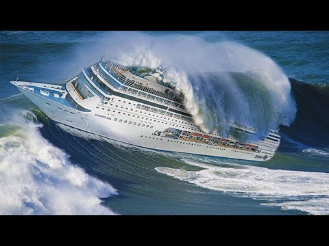 Ship in Storm videos Scariest Ships In Storms Moments 2018