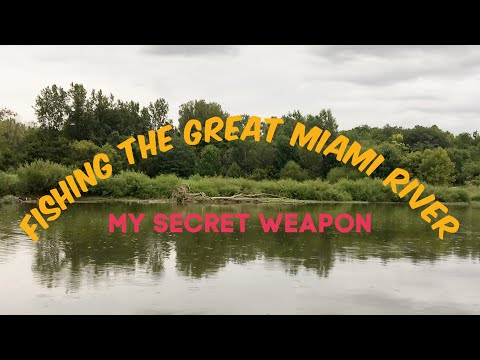 Fishing The Great Miami River: My Secret Weapon🤫🎣