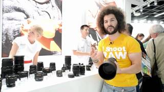 Three NEW Lenses from Sigma including the NEW 120-300 2.8 Hands On