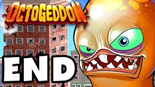 Octogeddon - Gameplay Walkthrough Part 4 - Destroying the White House! Ending! (PC)