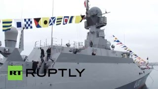 Russian Navy: Two new missile ships join Black Sea Fleet