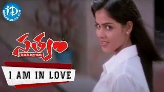 Satyam Movie Songs - I Am In Love Video Song    Sumanth, Genelia    Chakri