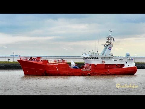 offshore standby safety vessel GLOMAR ARCTIC HO9083 IMO 8711473 guard ship Emden