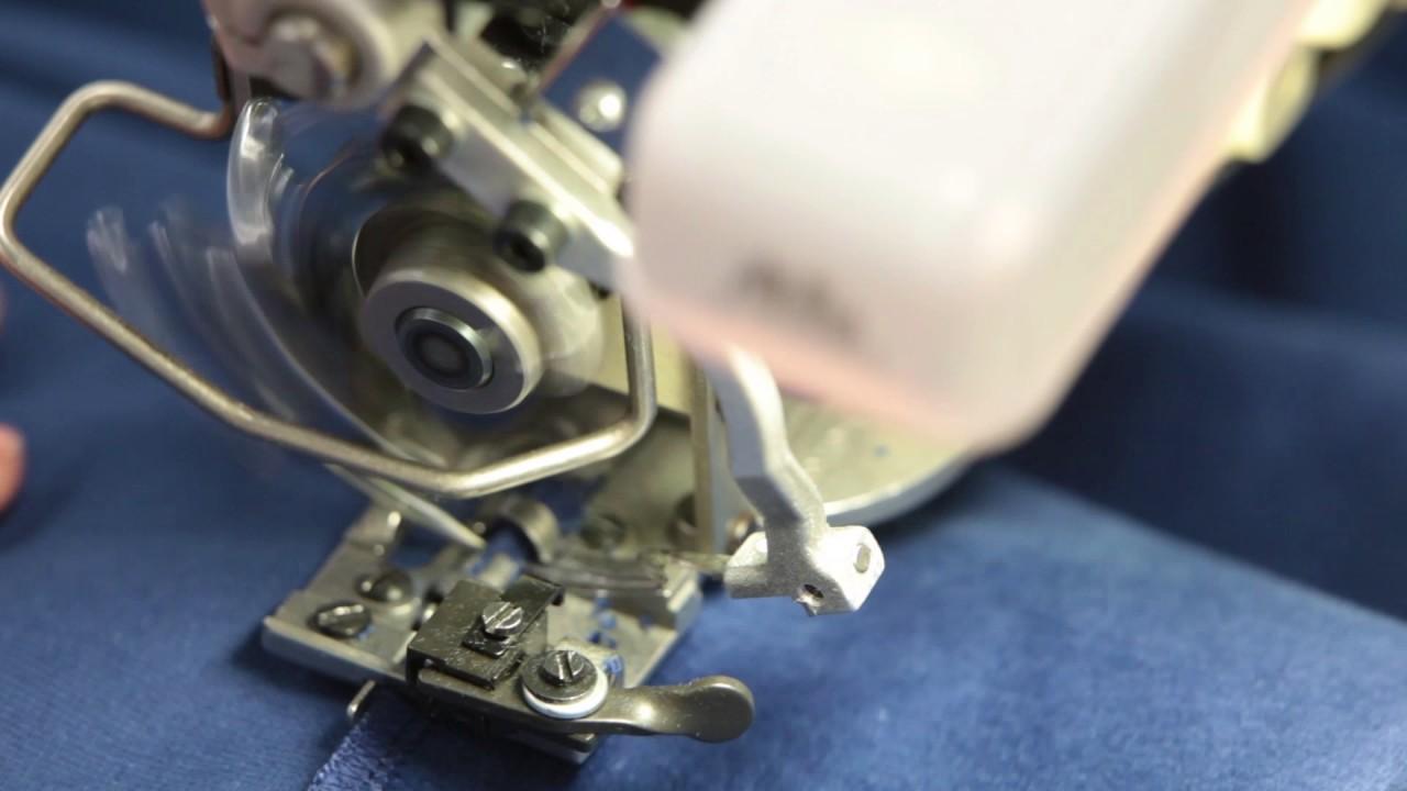 Wonderlijk Gordijnen maken, blindzoom steek - YouTube XJ-49