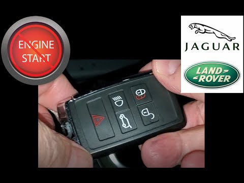 Jaguar, Land Rover newest key fob battery replacement
