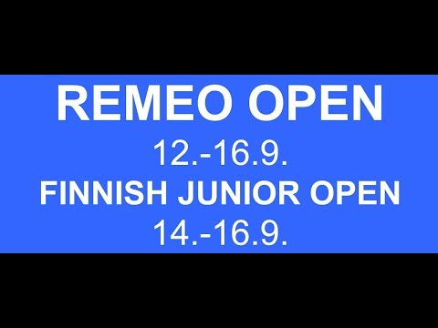 Remeo Open Squash 13.9.2018