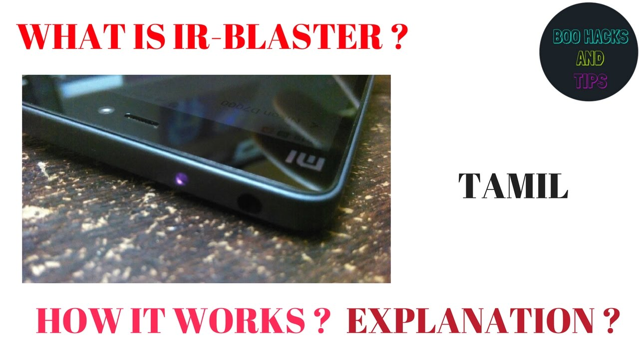 how to make ir blaster