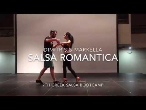 Salsa Romantica workshop by Dimitris & Markella @ 7th GSB