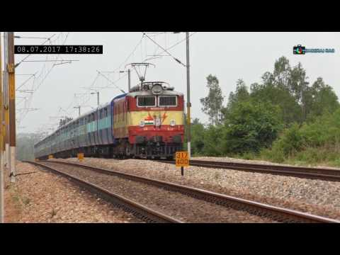 Exploring Bangalore Chennai Line | Trains at Speed