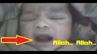 Gambar cover SubhanaAllah! Baru Lahir di Dunia Bayi Ajaib Ini Sebut Nama 'ALLAH' Tanpa Henti!
