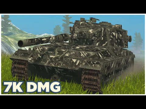 FV215b (183) • 7K damage • WoT Blitz