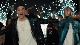 Lonzo Ball Raps with Liangelo & Lavar in HILARIOUS New Big Baller Music Video