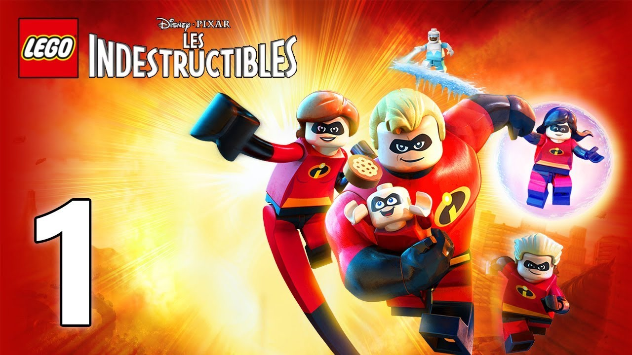 Lego Les Indestructibles 1 Youtube