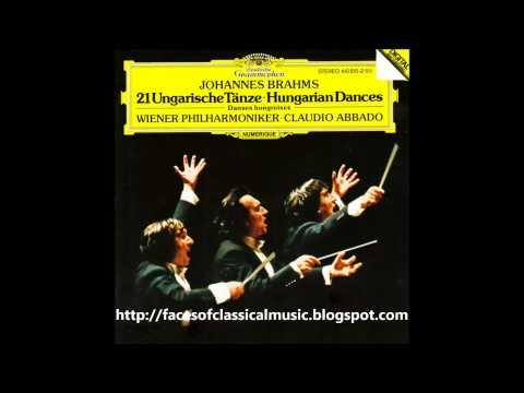 Johannes Brahms: Hungarian Dances - Wiener Philharmoniker, Claudio Abbado (Audio video)