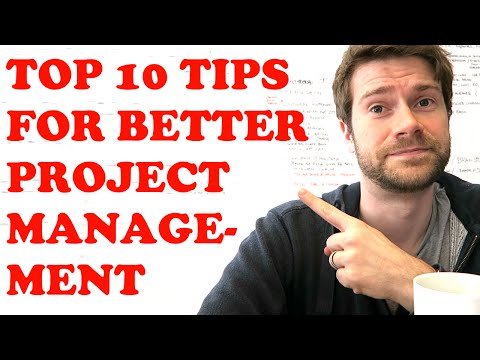 PROJECT MANAGEMENT TIPS | Top 10 tips for better & faster project management | Vlog #15