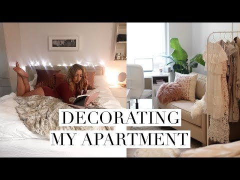 DECORATING MY NEW STUDIO APARTMENT + WASHINGTON MEETUP? | DC Diaries #2