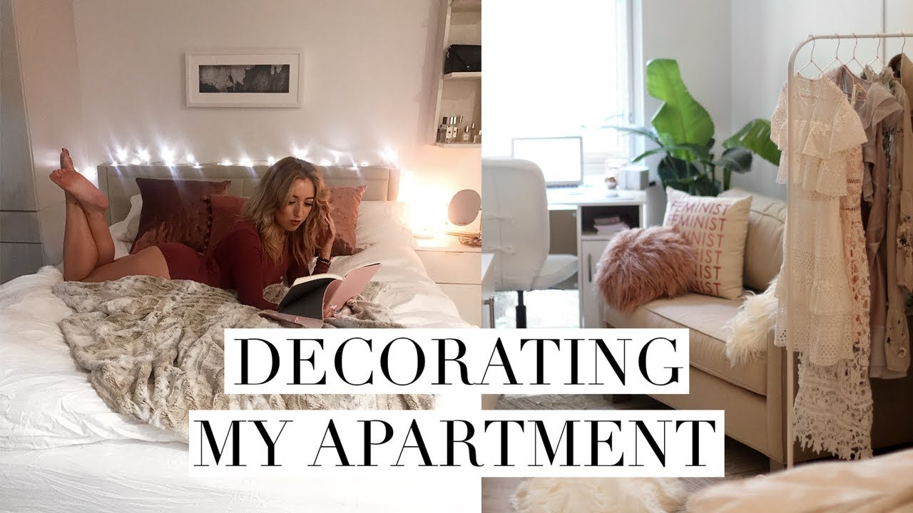DECORATING MY NEW STUDIO APARTMENT + WASHINGTON MEETUP? | DC Diaries ...