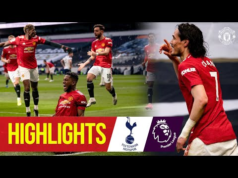 Fred, Cavani & Greenwood seal comeback win at Spurs | Highlights | Tottenham 1-3 Manchester United