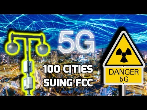 """5G """"Small Cell"""" Towers, FCC & RF Radiation +(San Rafael City Council Meeting on 5G)"""
