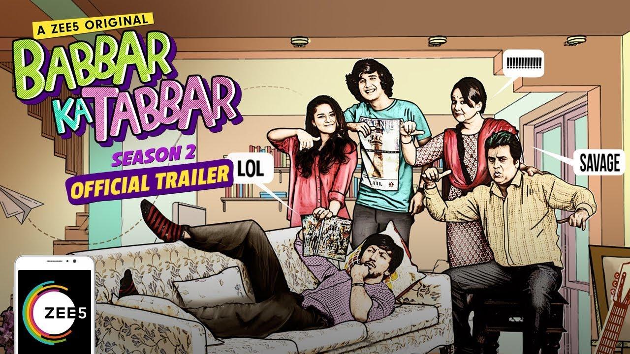 Babbar Ka Tabbar - Season 2 | Official Trailer | A ZEE5 Original ...