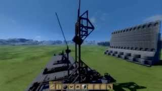 Medieval Engineers Trebuchet Design Tutorial