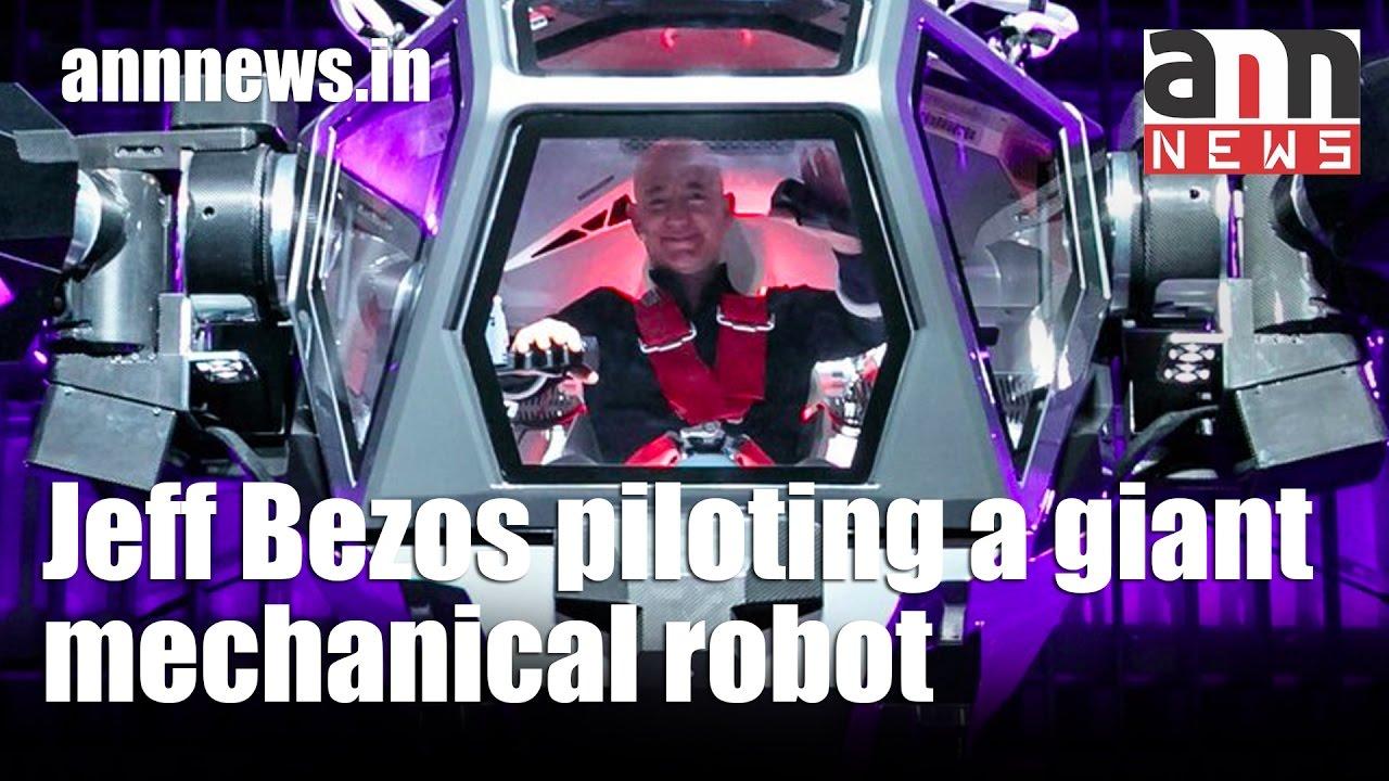 Jeff Bezos Piloting A Giant Mechanical Robot Annnewstechnology