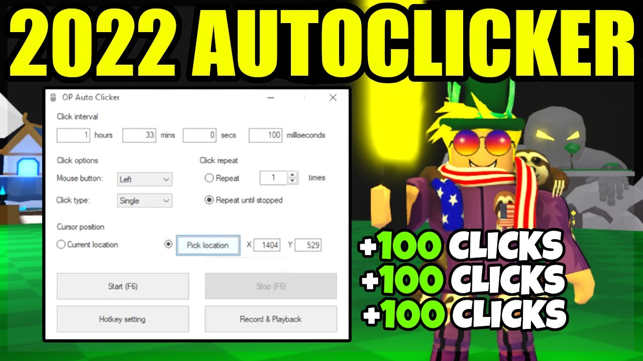 How To Get The Fastest Auto Clicker In Roblox 2020 Youtube