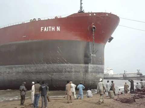 """Ship Beaching """"FAITH N"""" Part 4/4"""