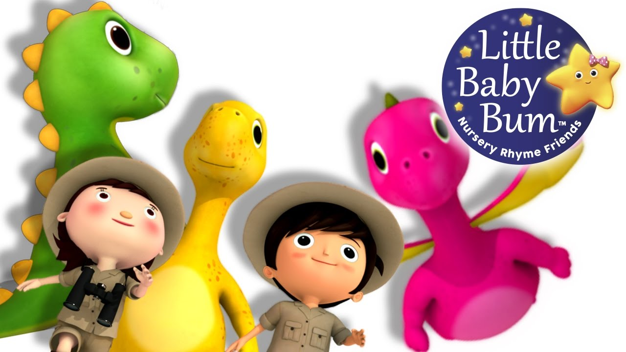 Learn With Little Baby Dinosaur