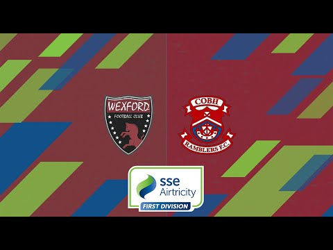 First Division GW4: Wexford 1-2 Cobh Ramblers