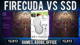 Comparativo FireCuda vs SSD - Testes práticos em 6 jogos, Adobe CC 2017, MS Office e Chrome