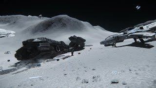 Star Citizen  Bounty Hunting and the Moon Shipwreck Loot