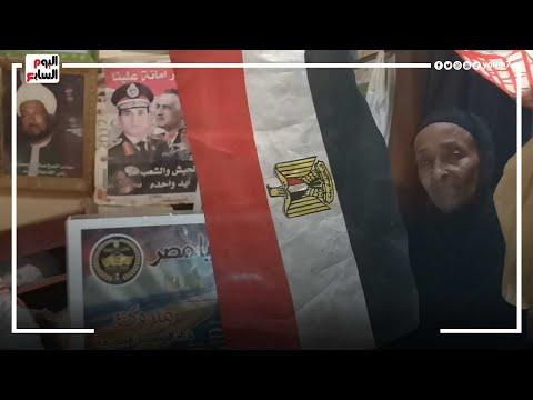 عاشقة عبد الناصر الباكية.. الحاجة فاطمة 71 سنة في حب الزعيم الراحل  - 01:54-2021 / 7 / 25