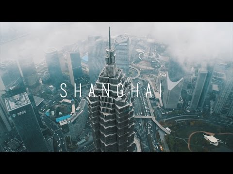 On top of the SHANGHAI WORLD FINANCIAL CENTER