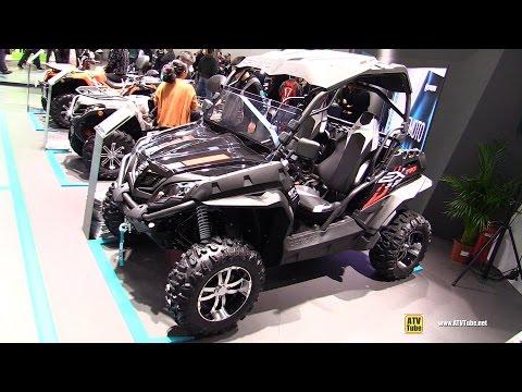 2017 CfMoto Zforce 550 EX - Walkaround - 2016 EICMA Milan