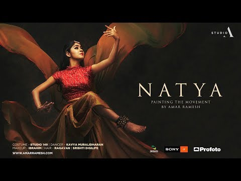 Natya - Painting the movement with Profoto