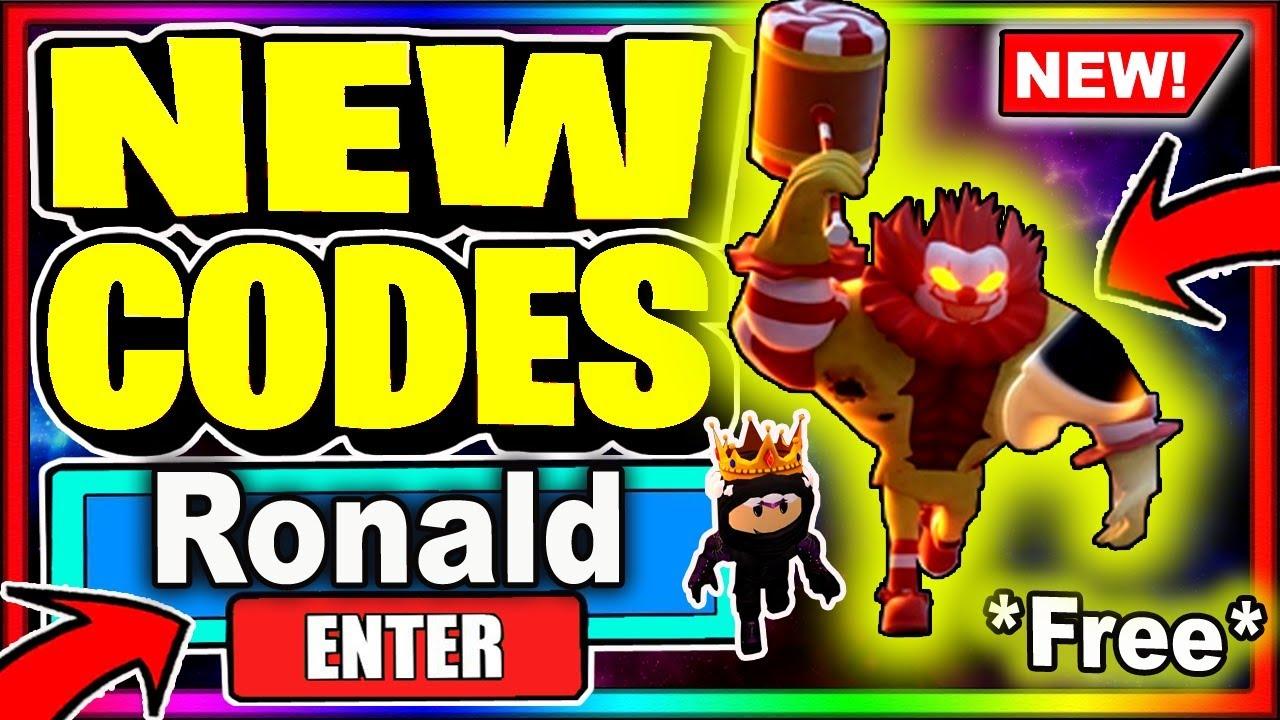 Roblox Ronald Codes 2020 June All New Secret Codes Roblox Ronald Youtube