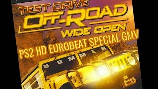 Test Drive Off-Road Wide Open PS2 HD EUROBEAT SPECIAL GMV