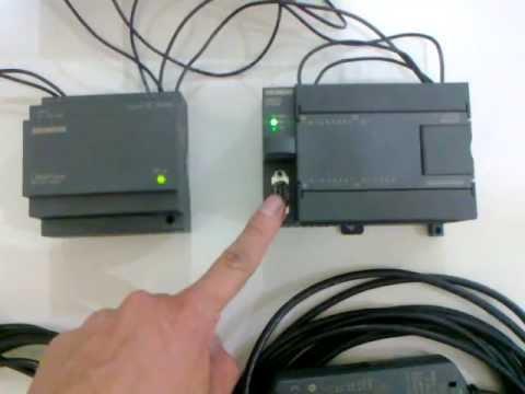 Como Se Puede Comunicar El Plc S7 200 Al Computador De