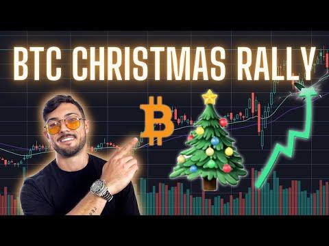 The BITCOIN Christmas RALLY! $25k Gift? BTC Price Targets \u0026 Analysis